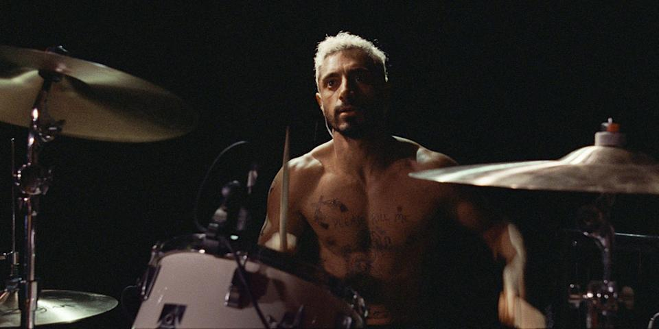 "Riz Ahmed stars as a drummer who experiences a sudden loss of hearing in ""Sound of Metal."""