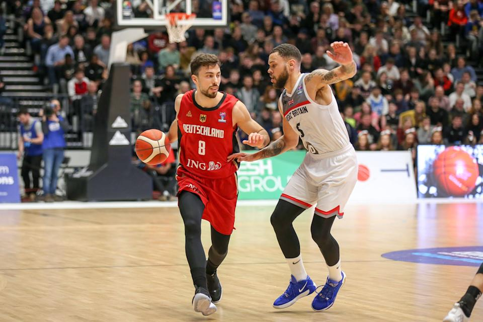 Bristol Flyers and Great Britain star Teddy Okereafor is the son of NASSA founder Natasha Hart © imago images/kolbert-press via Reuters Connect