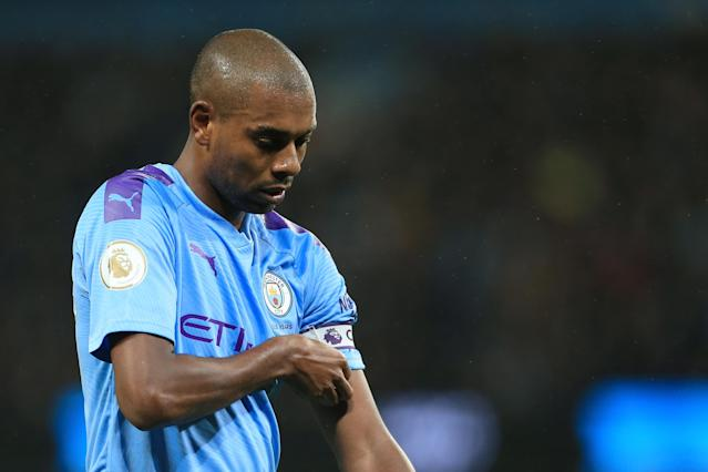 Fernandinho and Manchester City have had the upper hand on Manchester United in terms of trophies. (Photo by Simon Stacpoole/Offside/Offside via Getty Images)
