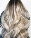 """If you usually go ashy, find a balance of warm and cool tones for summer. """"The style still has some warmth to it because of the<br> root and would look great with a summer glow,"""" says Powell. """"Completing this look would probably take one or two sessions in order to achieve it without sacrificing the integrity of the hair."""" She recommends asking for a dimensional blond balayage with highlights and toner."""