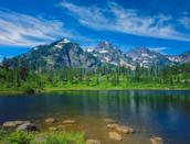 """<p><strong>Mount Baker Snoqualmie National Forest</strong></p><p>Whether it's in the summer months or ski season in the winter, <a href=""""https://www.fs.usda.gov/mbs/"""" rel=""""nofollow noopener"""" target=""""_blank"""" data-ylk=""""slk:Mountain Baker Snoqualmie National Forest"""" class=""""link rapid-noclick-resp"""">Mountain Baker Snoqualmie National Forest</a> is an escape into wildlife and scenic trails. Stay in cabins and check out Mount Baker as well as a variety of local restaurants at the neighboring town of Glacier.</p>"""