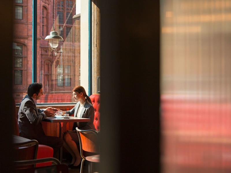 Okay, So Everyone Sitting Around You at a Restaurant Might Be a Spy