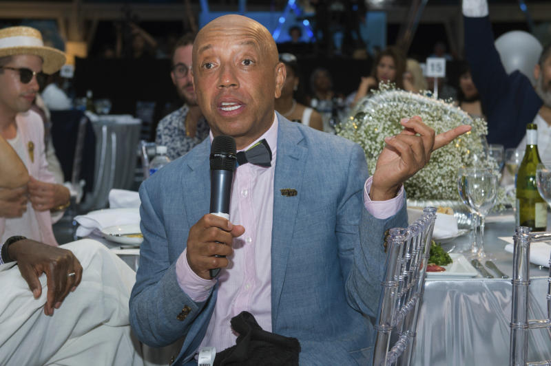 The Latest: Russell Simmons writes response to allegations