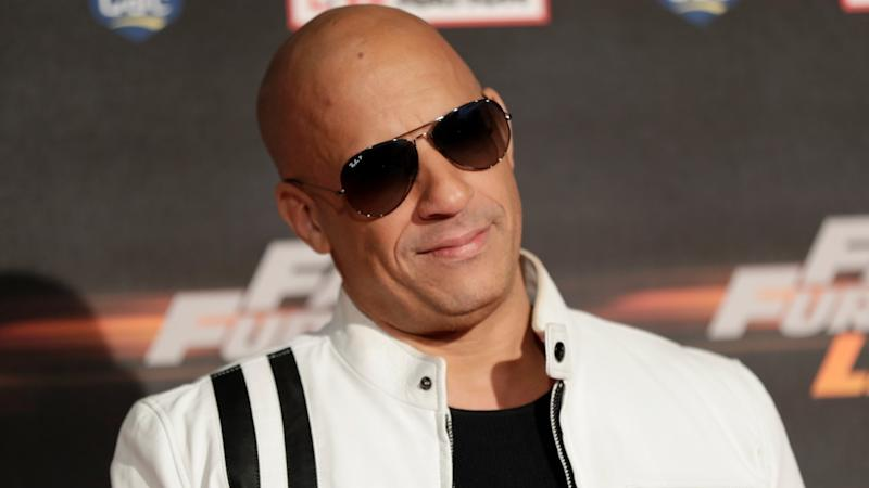 Vin Diesel Dressed as Groot at 'Avengers: Infinity War' Premiere -- See the Pics!