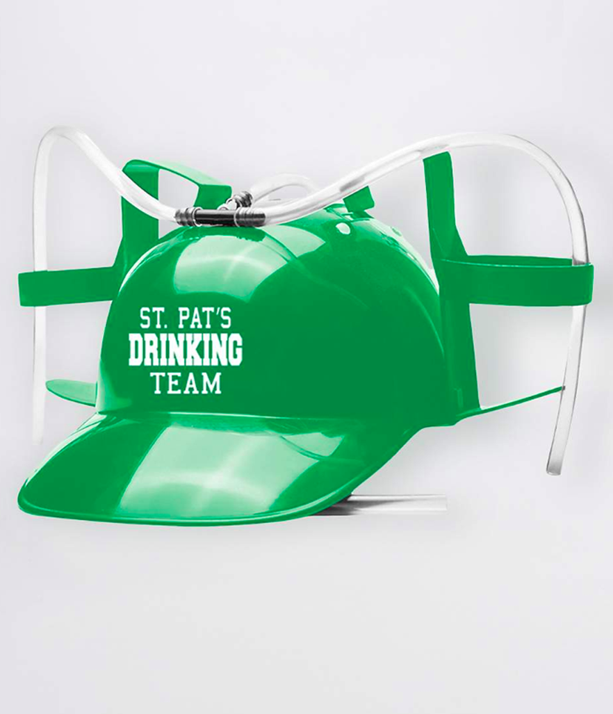Spencers St. Patrick's Day Drinking Helmet (Photo: Spencers)
