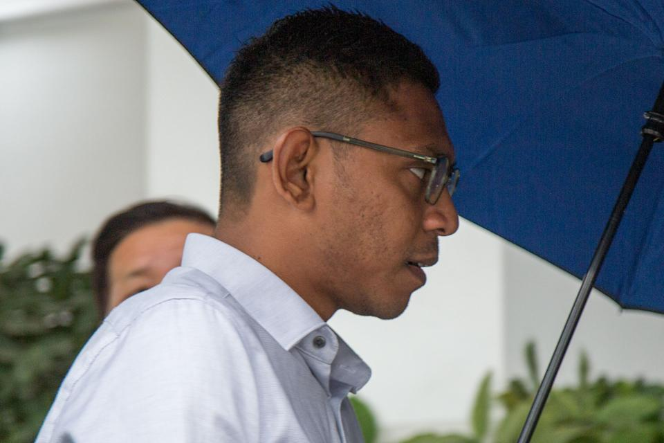 Mohamed Farid Mohd Saleh, 36, had instigated an act that resulted in the death of full-time national serviceman Kok Yuen Chin. (PHOTO: Dhany Osman / Yahoo News Singapore)