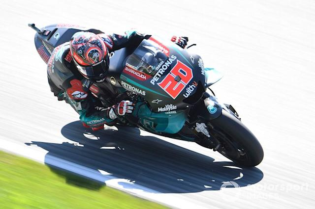 "Fabio Quartararo, Petronas Yamaha SRT <span class=""copyright"">Gold and Goose / LAT Images</span>"