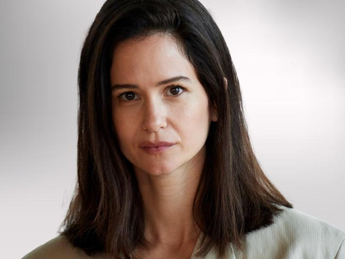 Katherine Waterston: 'I felt the patriarchy far more with my pay cheques than with any director I've ever worked with' (Carlos Alvarez/Getty Images)