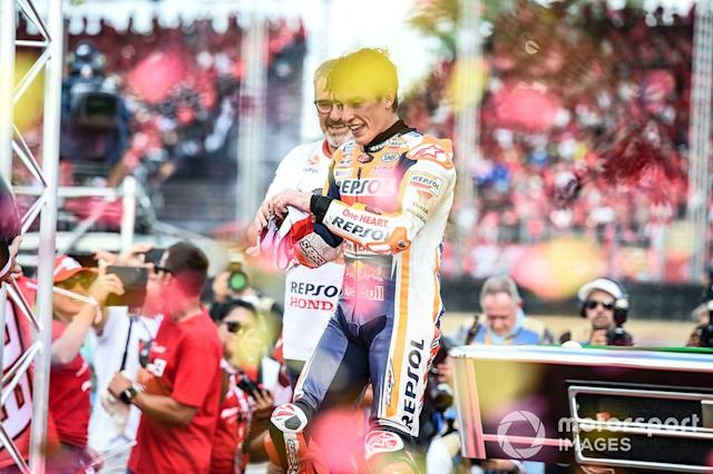 "Campeón del mundo Marc Márquez, Repsol Honda Team <span class=""copyright"">Gold and Goose / Motorsport Images</span>"