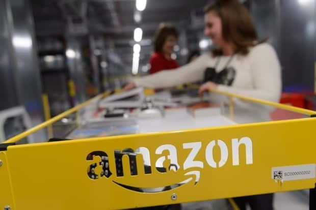 Amazon is increasing how much it pays its front-line workers and is planning a hiring spree. (Jakub Kaczmarczyk/EPA - image credit)
