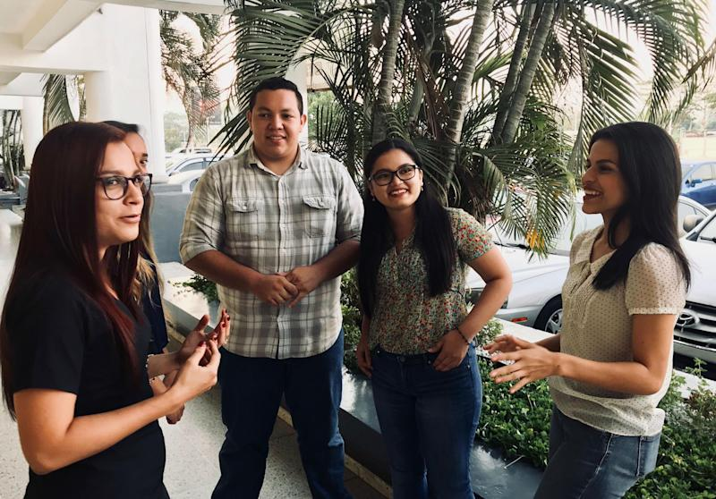 Students at the Technological University of Honduras say many people are leaving the country because they see no future: Andrew Buncombe