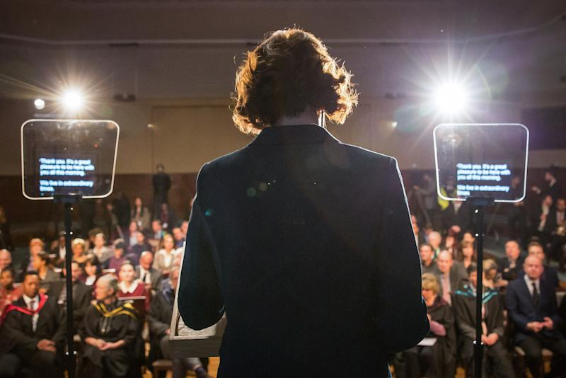 Was this Julia Montague's final speech? (Picture: BBC)