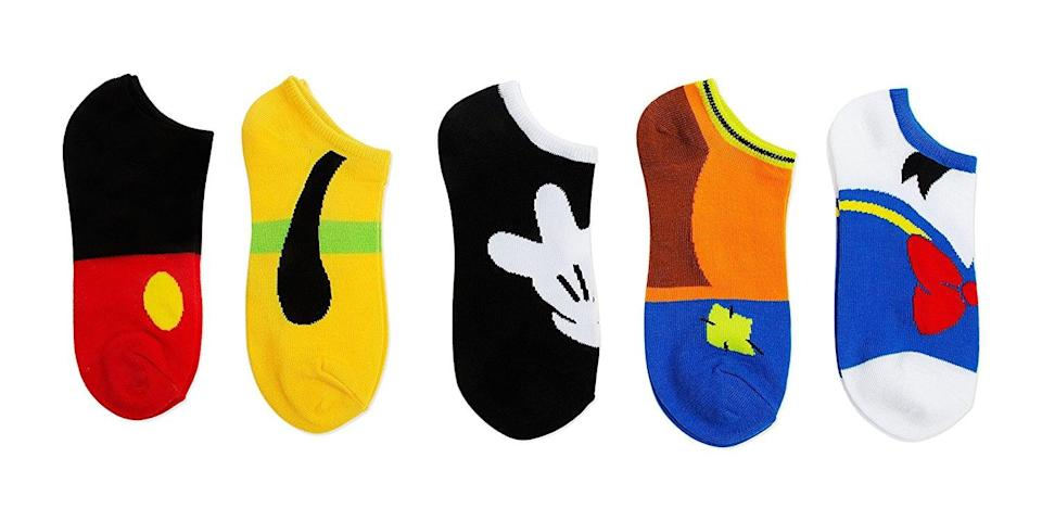 <p>This <span>Disney Classic No-Show Sock Set</span> ($7-$11) would make a great stocking stuffer. </p>