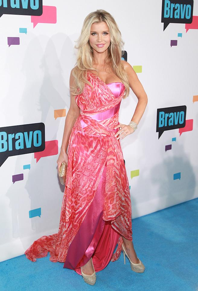 "NEW YORK, NY - APRIL 03:  TV personality Joanna Krupa of ""The Real Housewives of Miami"" attends the 2013 Bravo Upfront at Pillars 37 Studios on April 3, 2013 in New York City.  (Photo by Taylor Hill/FilmMagic)"