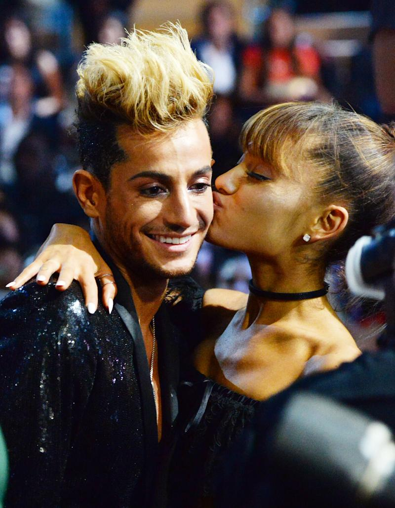 Frankie and Ariana Grande at the 2016 MTV Video Music Awards. (Photo: Getty Images/FilmMagic)