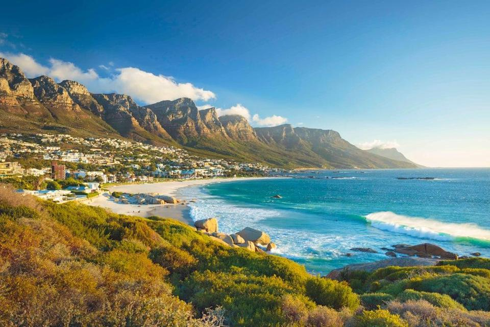 Twelve Apostles mountain in Camps Bay, Cape Town (Getty Images)
