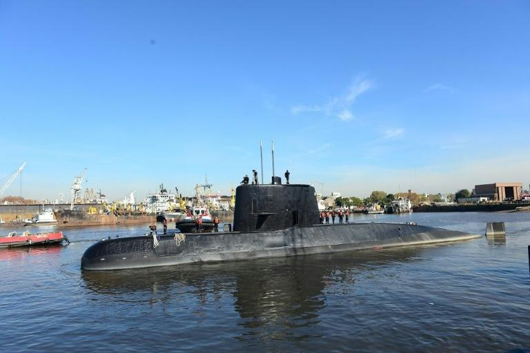 Argentina finds lost sub in deep Atlantic, one year after it disappeared