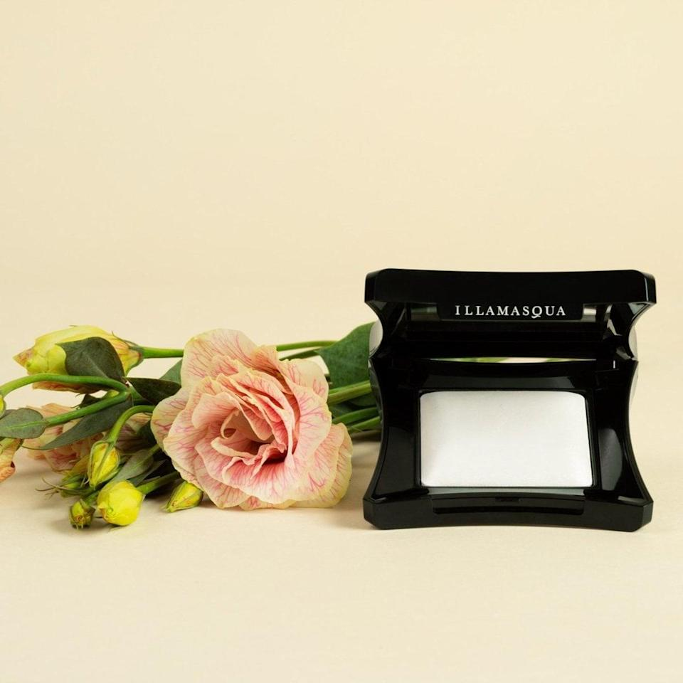 <p>The <span>Illamasqua Beyond Powder in Daze</span> ($45) is a gorgeous iridescent highlighting shade that will make you look glowy and dewy. Top off your cheek bones and the inner corners of your eyes with this beauty for a fresh and radiant look. If you want to pull off a bold eye, slightly dampen your brush and apply this shade all over the lids for a stricking metallic eye.</p>