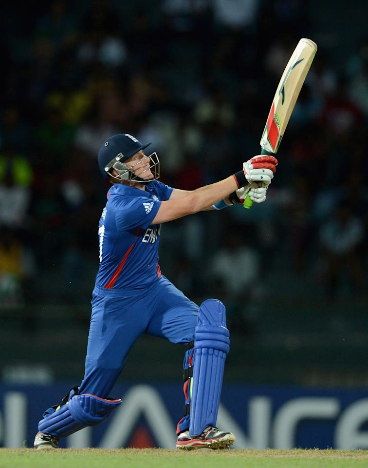 COLOMBO, SRI LANKA - SEPTEMBER 21:  Jonathan Bairstow of England bats during the ICC World Twenty20 2012 Group A match between England and Afghanistan at R. Premadasa Stadium on September 21, 2012 in Colombo, Sri Lanka.  (Photo by Gareth Copley/Getty Images)