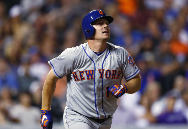 "The Indians added some muscle and defense to their lineup in acquiring the Mets' <a class=""link rapid-noclick-resp"" href=""/mlb/players/8171/"" data-ylk=""slk:Jay Bruce"">Jay Bruce</a>. (AP)"