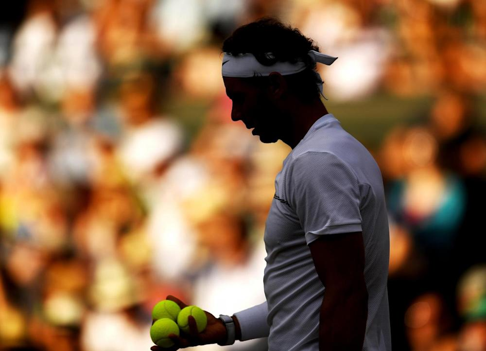 Nadal crashed out in five-sets (Getty)