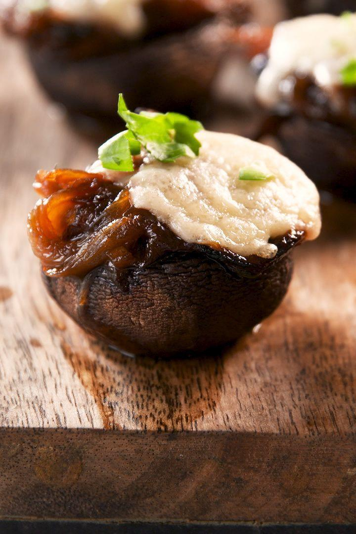 """<p>Good luck eating just one.</p><p>Get the <a href=""""https://www.delish.com/uk/cooking/recipes/a34516773/french-onion-mushrooms-recipe/"""" rel=""""nofollow noopener"""" target=""""_blank"""" data-ylk=""""slk:French Onion–Stuffed Mushrooms"""" class=""""link rapid-noclick-resp"""">French Onion–Stuffed Mushrooms</a> recipe.</p>"""
