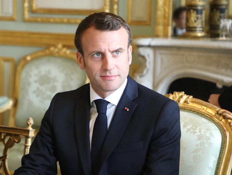 French President Emmanuel Macron met his interior and justice ministers after the 18th consecutive Saturday of 'yellow vest' protest spiralled out of control (AFP Photo/Ludovic MARIN)