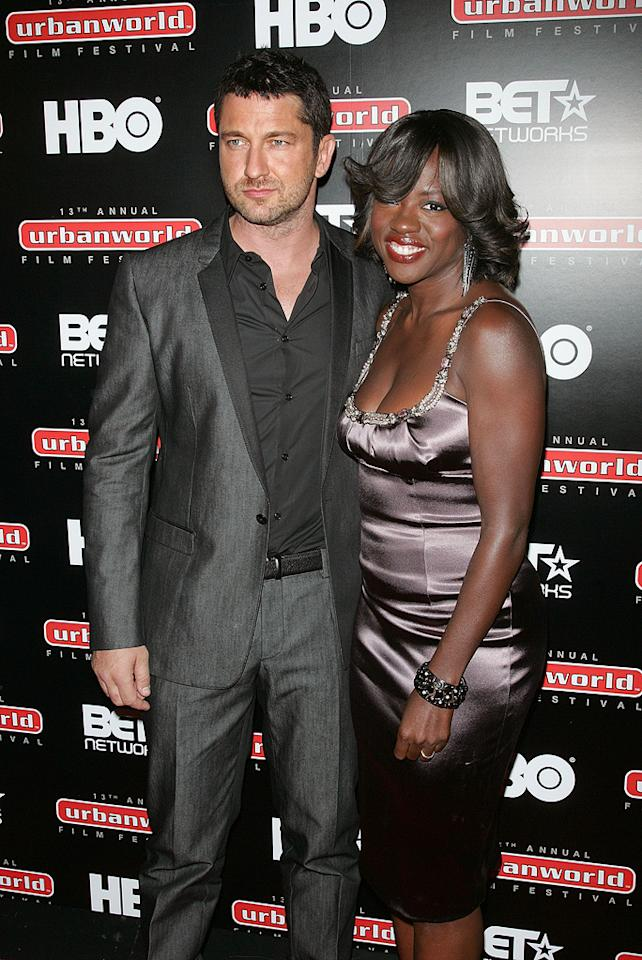 "<a href=""http://movies.yahoo.com/movie/contributor/1803248911"">Gerard Butler</a> and <a href=""http://movies.yahoo.com/movie/contributor/1800315745"">Viola Davis</a> at the New York City premiere of <a href=""http://movies.yahoo.com/movie/1810029276/info"">Law Abiding Citizen</a> - 09/23/2009"