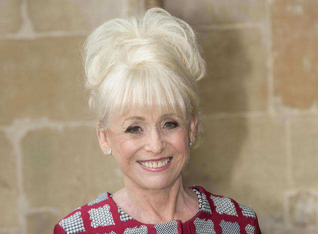 Barbara Windsor attends a memorial service for comedian Ronnie Corbett at Westminster Abbey on June 7, 2017 in London, England. Corbett died in March 2016 at the age of 85. (Photo by Mark Cuthbert/UK Press via Getty Images)