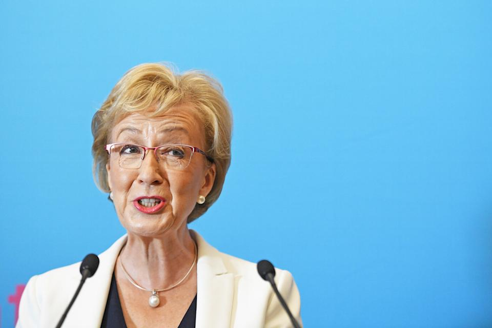 Andrea Leadsom is the third favourite to win the leadership race (Picture: PA)