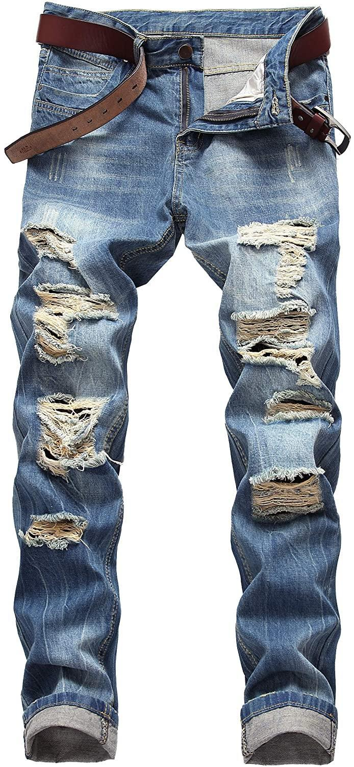 DANT BULUN Ripped Distressed Jeans