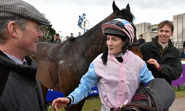 "<span class=""element-image__caption"">Rachael Blackmore needs one more winner before the 6 April deadline to qualify to ride in the Grand National.</span> <span class=""element-image__credit"">Photograph: Sportsfile/Corbis via Getty Images</span>"