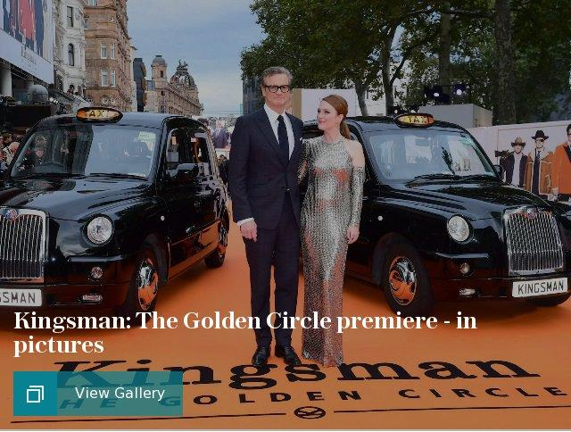 Kingsman: The Golden Circle premiere - in pictures