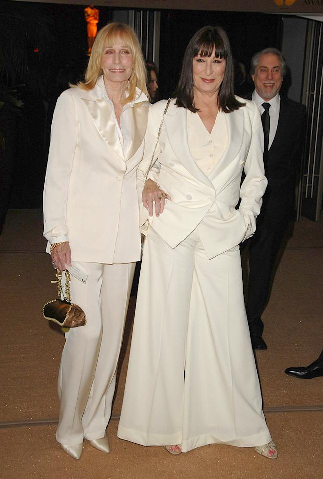 """<a href=""""http://movies.yahoo.com/movie/contributor/1800015771"""">Sally Kellerman</a> and <a href=""""http://movies.yahoo.com/movie/contributor/1800020829"""">Anjelica Huston</a> at the Academy of Motion Picture Arts and Sciences' Inaugural Governors Awards - 11/14/2009"""