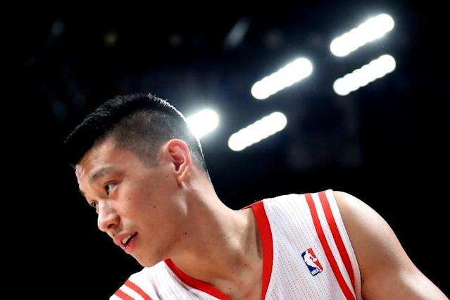 Jeremy Lin became the first Asian-American to win an NBA title last season (AFP Photo/RONALD MARTINEZ)