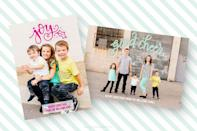 """<p>To create a professional-looking photo card in a flash, simply download these free Photoshop files. </p><p>Get the tutorial at <a href=""""https://printablecrush.com/hand-lettered-christmas-card-photoshop-files/"""" rel=""""nofollow noopener"""" target=""""_blank"""" data-ylk=""""slk:Printable Crush"""" class=""""link rapid-noclick-resp"""">Printable Crush</a>.</p>"""