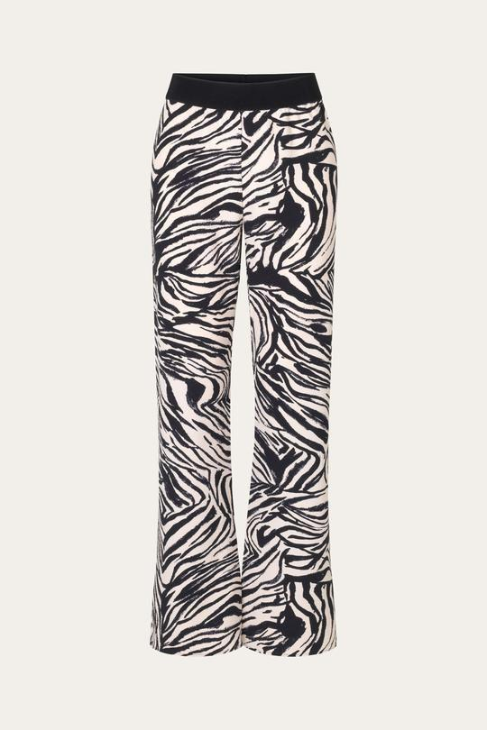 """<p><strong>Stine Goya</strong></p><p>stinegoya.com</p><p><strong>$230.00</strong></p><p><a href=""""https://us.stinegoya.com/collections/pants/products/marc-pants-pants-zebra-black"""" rel=""""nofollow noopener"""" target=""""_blank"""" data-ylk=""""slk:SHOP IT"""" class=""""link rapid-noclick-resp"""">SHOP IT</a></p><p>Take a walk on the walk side with these graphic pants.</p>"""