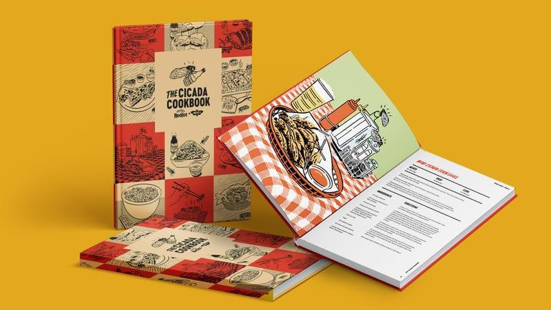 Product shot of The Cicada Cookbook by Frank's RedHot [image provided by Frank's]