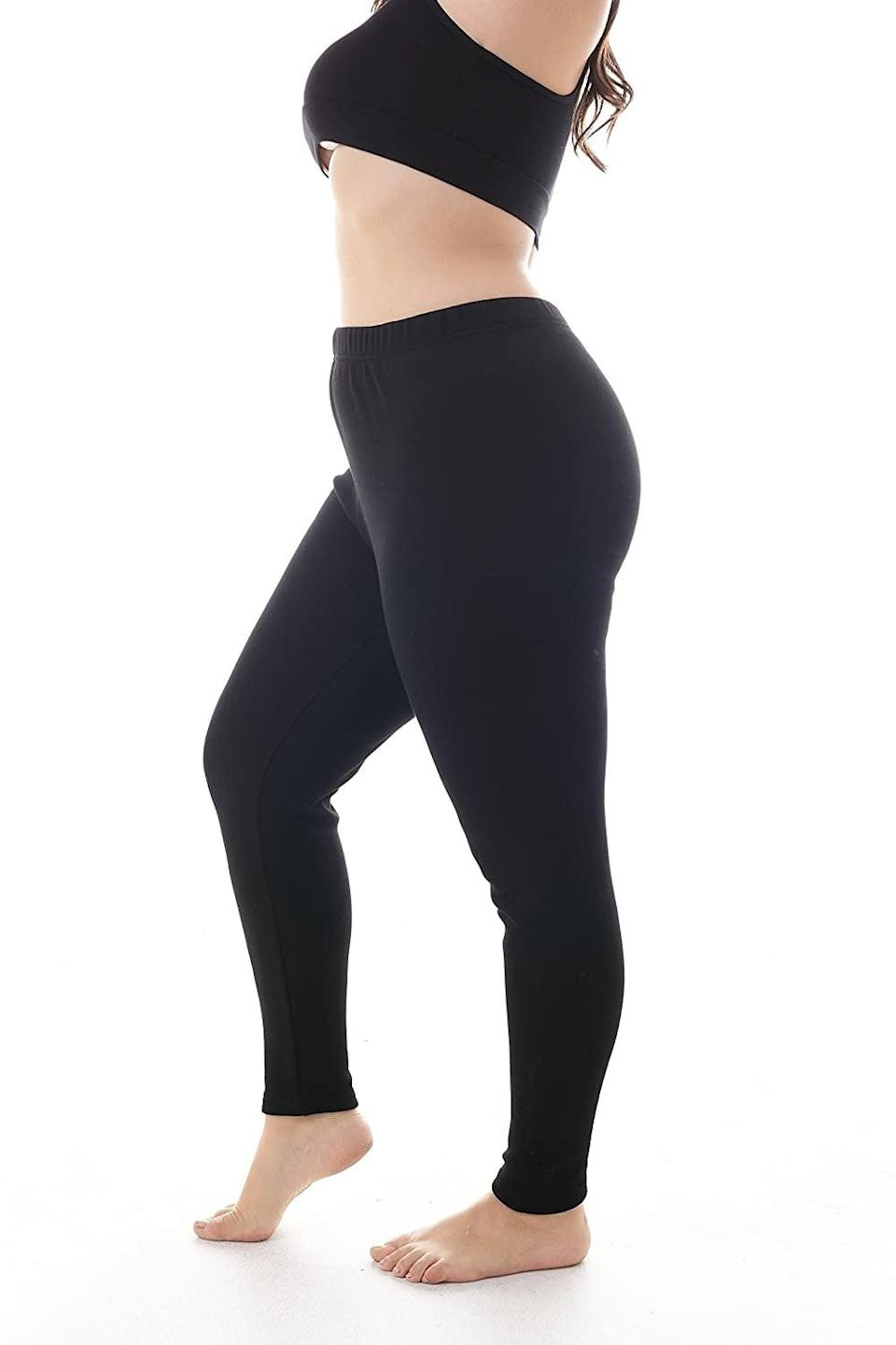<p>The <span>Zerdocean 100% Cotton Fleece-Lined Leggings</span> ($16) are anti-pilling and non-transparent, so you'll have them for years to come.</p>