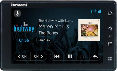 Using SiriusXM with 360L functionality, SiriusXM Tour delivers content via both satellite and streaming with a user interface designed for ease of use, content discovery and personalization