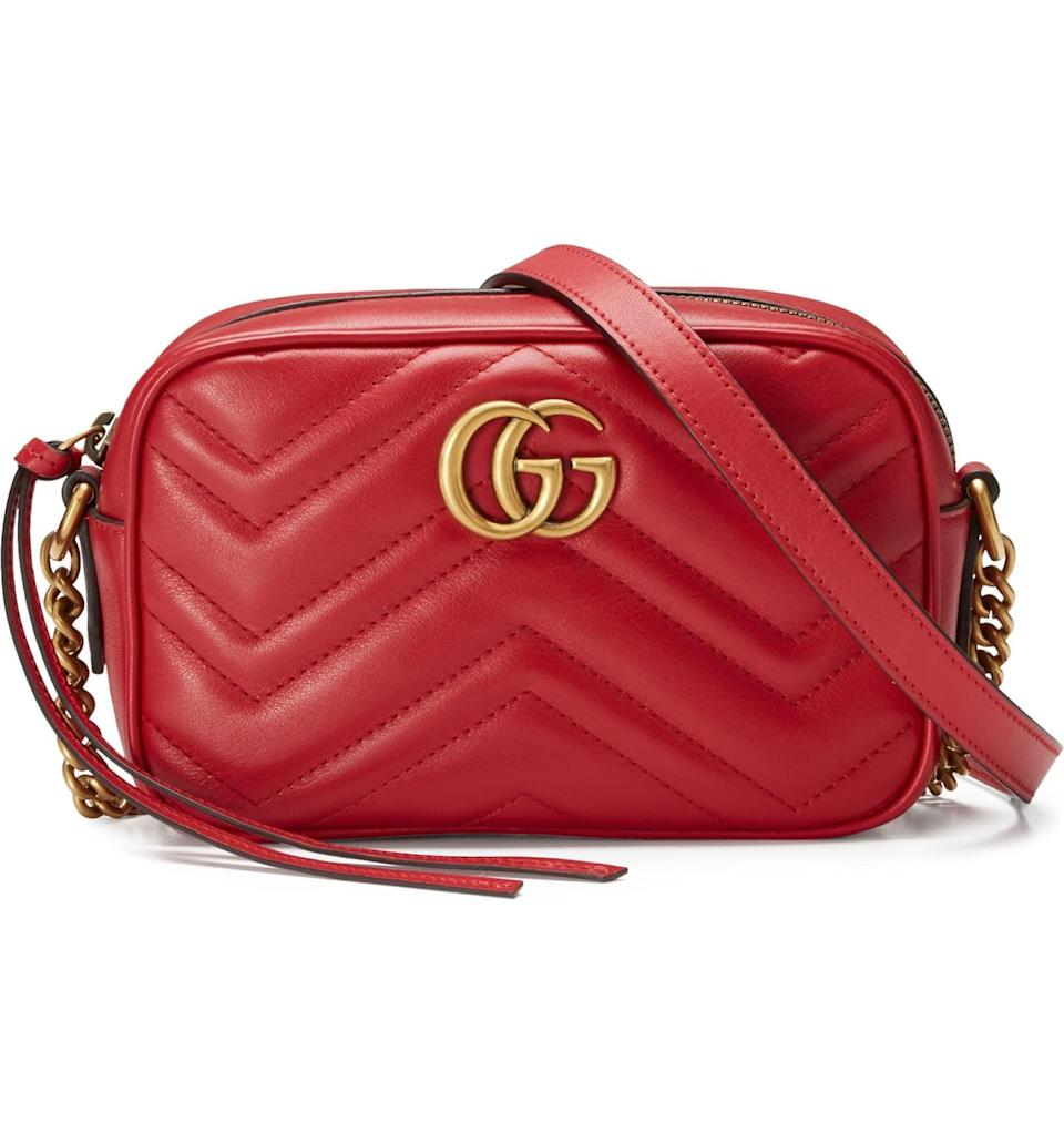 <p>If you're looking to really treat them, get them this <span>Gucci GG Marmont 2.0 Matelassé Leather Shoulder Bag</span> ($980).</p>