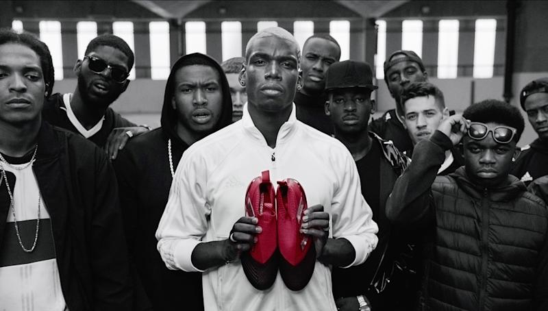 216cf2a368eb adidas Football launches its Red Limit collection with Paul Pogba