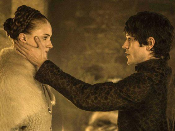 Sansa Stark and Ramsay Bolton (HBO)