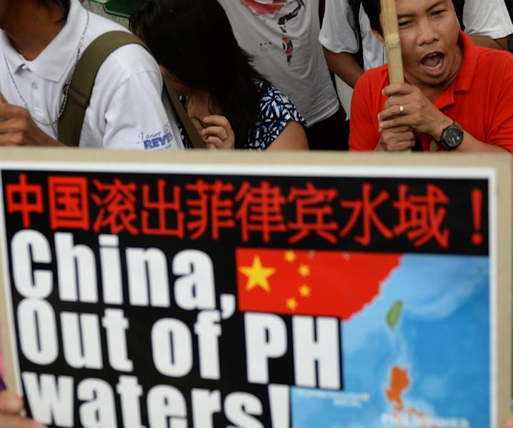 In recent years tensions with China have seen the Philippine government seek greater US military and diplomatic support (AFP Photo/Ted Aljibe)