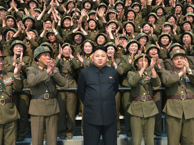 North Korea has warned the US is on a course toward nuclear war. Source: AP