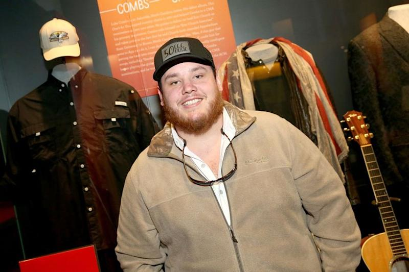 Luke combs reached out to this high school pal and fellow country luke combs at the american currents exhibit m4hsunfo