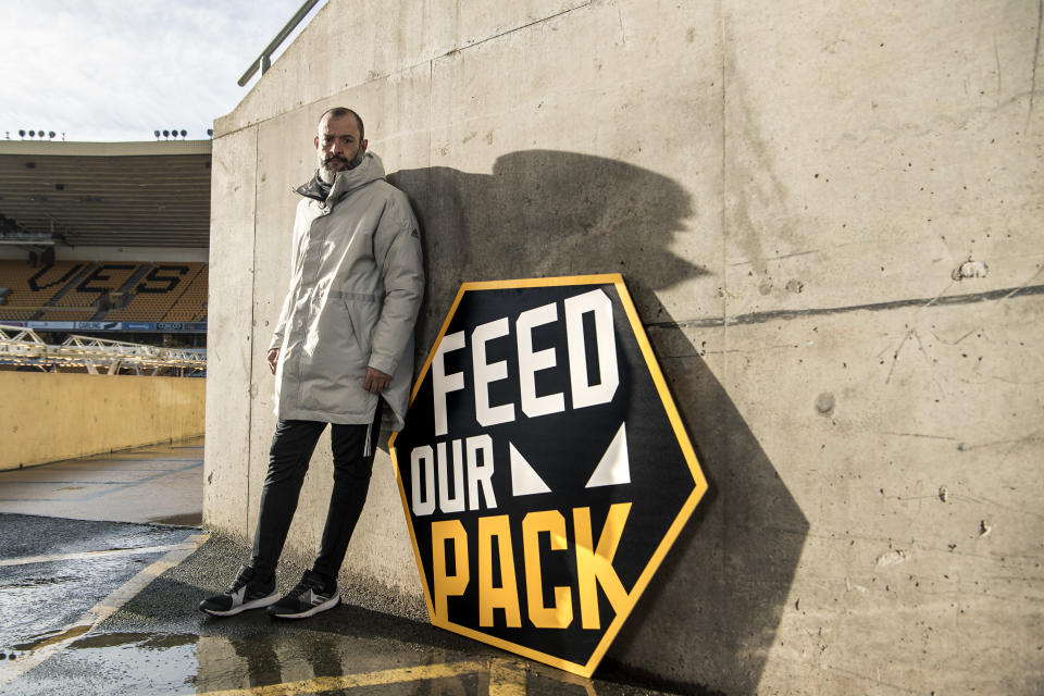 Nuno has been in charge at Molineux since 2017 (Wolves/StuartManleyPhotography)