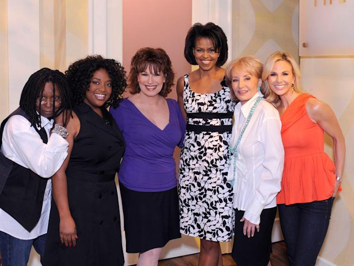 michelle obama appearing on the view in 2008