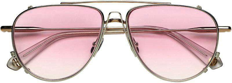 Lunettes de soleil, Peter and May, 410 €.