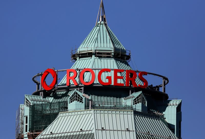 The headquarters of Rogers Communications Inc. is seen in Toronto